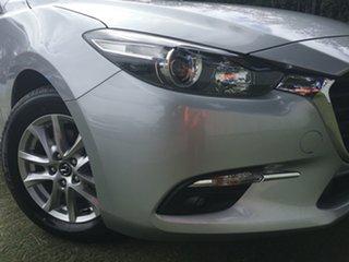 2018 Mazda 3 BN5478 Maxx SKYACTIV-Drive Sport Sonic Silver 6 Speed Sports Automatic Hatchback.