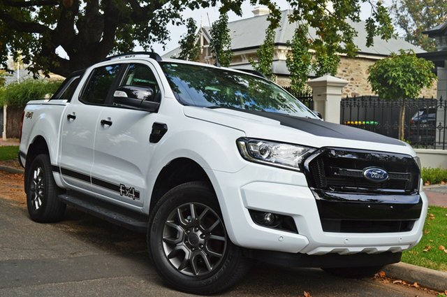 Used Ford Ranger PX MkII FX4 Double Cab, 2017 Ford Ranger PX MkII FX4 Double Cab White 6 Speed Sports Automatic Utility