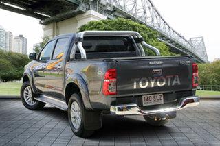 2012 Toyota Hilux KUN26R MY12 SR5 Xtra Cab Grey 5 Speed Manual Utility.