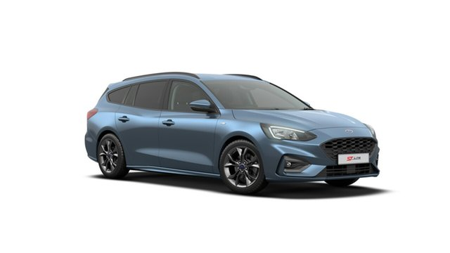 New Ford Focus SA 2019.75MY ST-Line, 2019 Ford Focus SA 2019.75MY ST-Line Blue Metallic 8 Speed Automatic Wagon