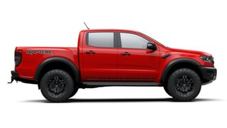 2019 Ford Ranger PX MkIII 2019.00MY Raptor Pick-up Double Cab True Red 10 Speed Sports Automatic.