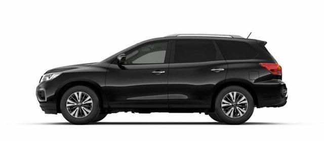 Demo Nissan Pathfinder R52 Series III MY19 ST X-tronic 2WD, 2018 Nissan Pathfinder R52 Series III MY19 ST X-tronic 2WD Diamond Black 1 Speed Constant Variable