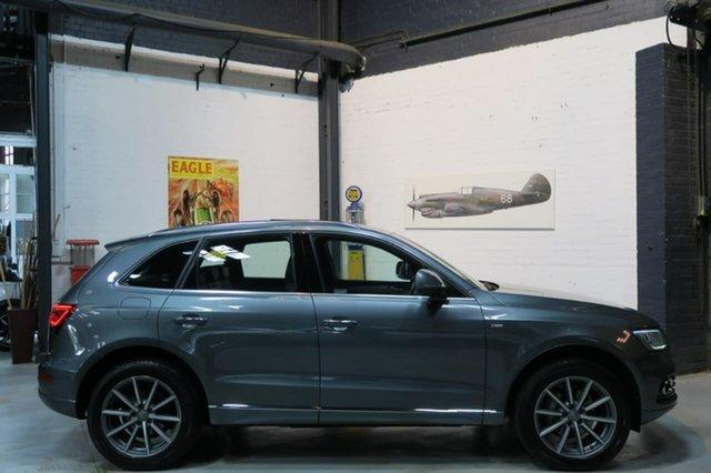 Used Audi Q5 8R MY15 TFSI Tiptronic Quattro Sport Edition, 2015 Audi Q5 8R MY15 TFSI Tiptronic Quattro Sport Edition Grey 8 Speed Sports Automatic Wagon