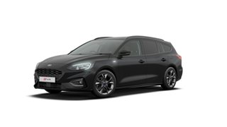2018 Ford Focus SA 2019.25MY ST-Line Black 8 Speed Automatic Wagon