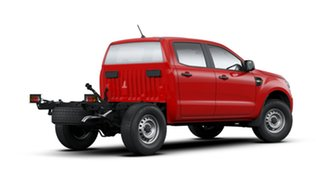 2019 Ford Ranger PX MkIII 2019.75MY XL Double Cab Red 6 Speed Sports Automatic Cab Chassis.