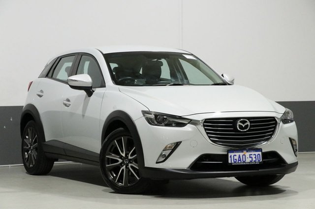 Used Mazda CX-3 DK S Touring (FWD), 2016 Mazda CX-3 DK S Touring (FWD) Beige 6 Speed Automatic Wagon