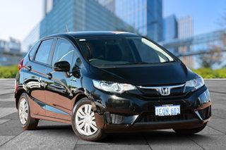 2014 Honda Jazz GF MY15 VTi Black 1 Speed Constant Variable Hatchback.