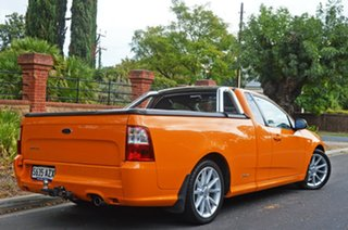 2013 Ford Falcon FG MkII XR6 Ute Super Cab Orange 6 Speed Sports Automatic Utility.