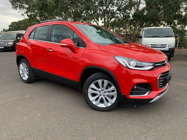 New Holden Trax TJ MY19 LTZ, 2019 Holden Trax TJ MY19 LTZ Absolute Red 6 Speed Automatic Wagon