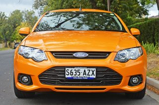 2013 Ford Falcon FG MkII XR6 Ute Super Cab Orange 6 Speed Sports Automatic Utility