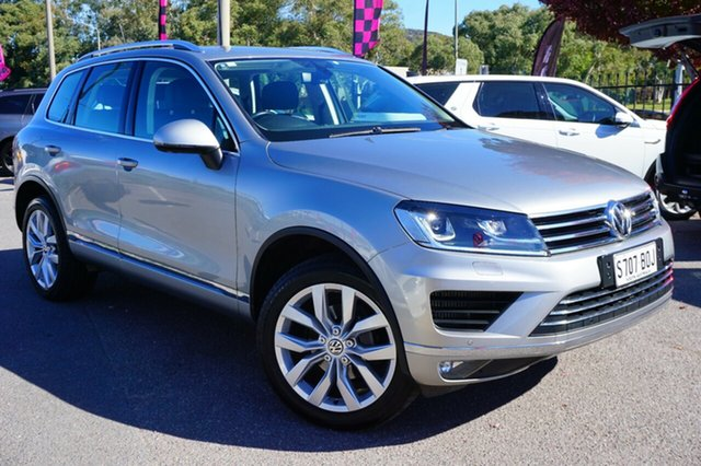 Used Volkswagen Touareg 7P MY16 V6 TDI Tiptronic 4MOTION, 2015 Volkswagen Touareg 7P MY16 V6 TDI Tiptronic 4MOTION Grey 8 Speed Sports Automatic Wagon