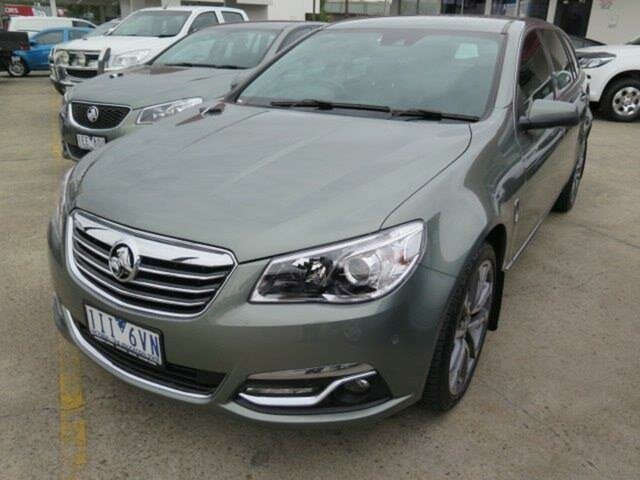 Used Holden Calais VF II MY16 V Sportwagon, 2016 Holden Calais VF II MY16 V Sportwagon Prussian Steel 6 Speed Sports Automatic Wagon