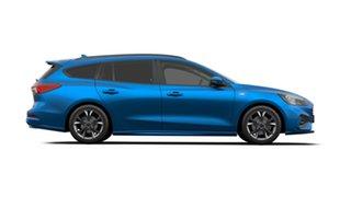 2019 Ford Focus SA 2019.75MY ST-Line Desert Island Blue 8 Speed Automatic Wagon.