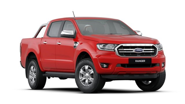 New Ford Ranger PX MkIII 2019.75MY XLT Pick-up Double Cab, 2019 Ford Ranger PX MkIII 2019.75MY XLT Pick-up Double Cab True Red 10 Speed Sports Automatic