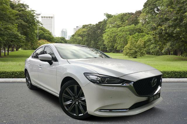 Demo Mazda 6 GL1032 GT SKYACTIV-Drive, 2018 Mazda 6 GL1032 GT SKYACTIV-Drive White Pearl 6 Speed Sports Automatic Sedan