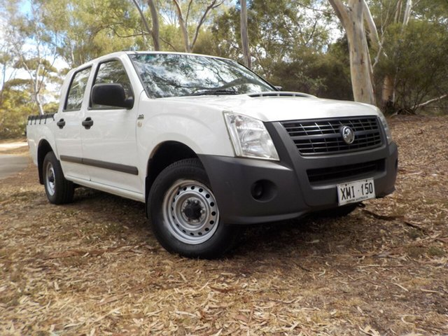 Used Holden Rodeo RA MY07 LX Crew Cab 4x2, 2007 Holden Rodeo RA MY07 LX Crew Cab 4x2 5 Speed Manual Utility