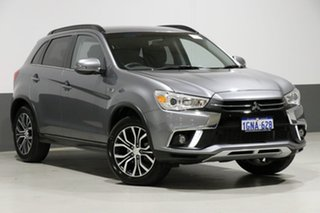 2018 Mitsubishi ASX XC MY18 LS (2WD) Grey Continuous Variable Wagon.