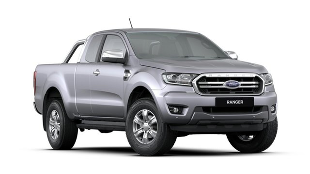 New Ford Ranger PX MkIII 2020.25MY XLT Pick-up Super Cab, 2020 Ford Ranger PX MkIII 2020.25MY XLT Pick-up Super Cab Aluminium 6 Speed Sports Automatic Utility