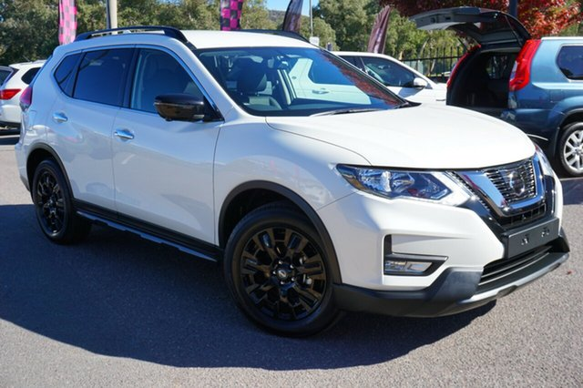 Used Nissan X-Trail T32 Series II ST-L X-tronic 4WD N-SPORT, 2018 Nissan X-Trail T32 Series II ST-L X-tronic 4WD N-SPORT White 7 Speed Constant Variable Wagon