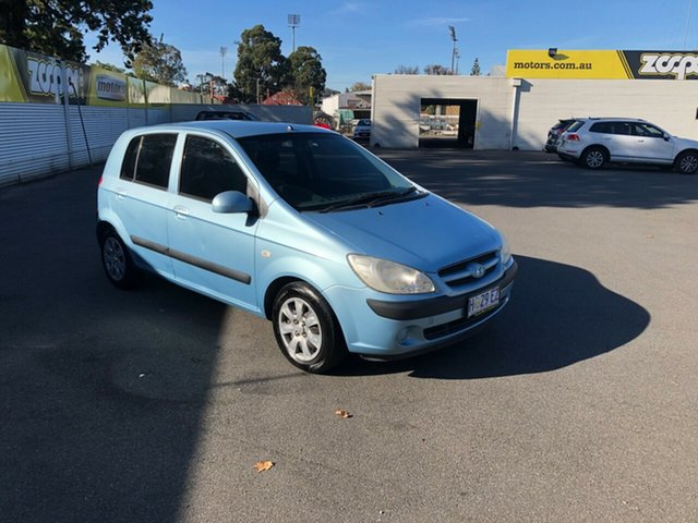 Used Hyundai Getz TB MY07 S, 2008 Hyundai Getz TB MY07 S Blue 5 Speed Manual Hatchback
