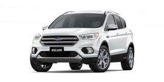 2019 Ford Escape ZG 2019.75MY Titanium PwrShift AWD Frozen White 6 Speed.