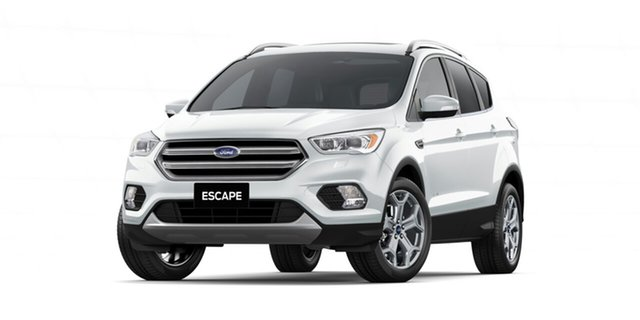 New Ford Escape ZG 2019.75MY Titanium PwrShift AWD, 2019 Ford Escape ZG 2019.75MY Titanium PwrShift AWD Frozen White 6 Speed