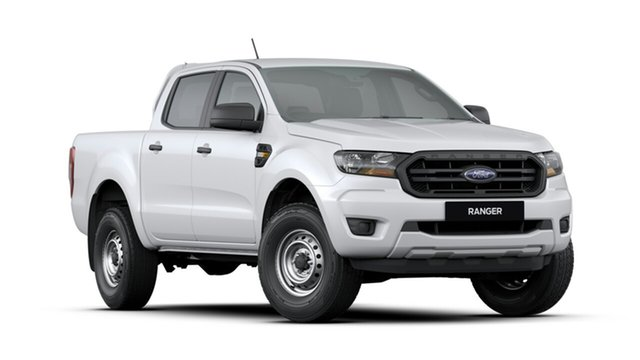 New Ford Ranger PX MkIII 2020.25MY XL Pick-up Double Cab, 2020 Ford Ranger PX MkIII 2020.25MY XL Pick-up Double Cab Arctic White 6 Speed Sports Automatic