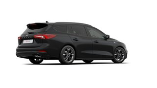 2018 Ford Focus SA 2019.25MY ST-Line Black 8 Speed Automatic Wagon.