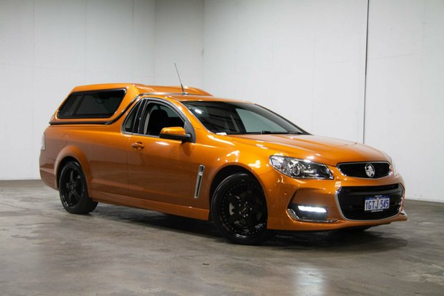 Used Holden Ute VF II MY17 SV6 Ute, 2017 Holden Ute VF II MY17 SV6 Ute Light My Fire 6 Speed Sports Automatic Utility