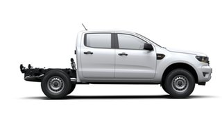 2020 Ford Ranger PX MkIII 2020.25MY XL Hi-Rider White 6 Speed Sports Automatic Double Cab Chassis.