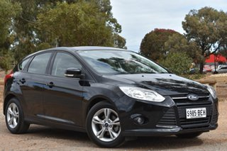 2013 Ford Focus LW MkII Trend PwrShift Black 6 Speed Sports Automatic Dual Clutch Hatchback.