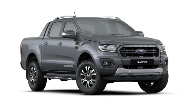 New Ford Ranger PX MkIII 2019.75MY Wildtrak Pick-up Double Cab, 2019 Ford Ranger PX MkIII 2019.75MY Wildtrak Pick-up Double Cab Meteor Grey 6 Speed Sports Automatic
