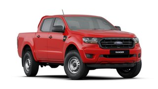 2019 Ford Ranger PX MkIII 2019.75MY XL Pick-up Double Cab 4x2 Hi-Rider Red 6 Speed Sports Automatic.