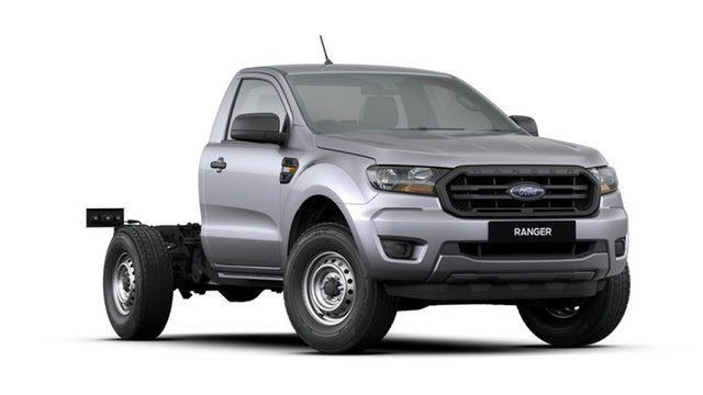 New Ford Ranger  XL 4x2, 2019 Ford Ranger PX MKIII 2019.7 XL 4x2 Aluminium 6 Speed Manual Cab Chassis