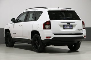 2014 Jeep Compass MK MY15 Blackhawk White Continuous Variable Wagon