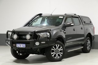2016 Ford Ranger PX MkII MY17 Wildtrak 3.2 (4x4) Graphite 6 Speed Automatic Dual Cab Pick-up.