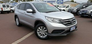 2013 Honda CR-V RM VTi Silver 6 Speed Manual Wagon.