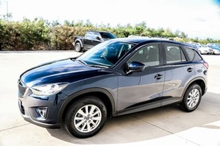 2014 Mazda CX-5 KE1071 MY14 Maxx SKYACTIV-Drive Sport Deep Crystal Blue 6 Speed Sports Automatic.