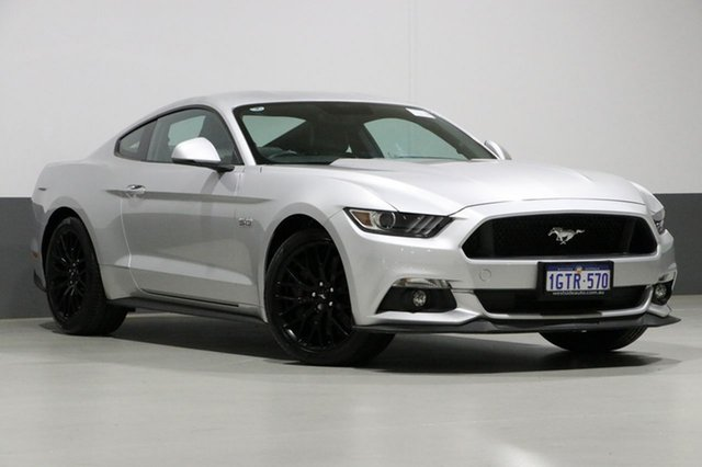 Used Ford Mustang FM MY17 Fastback GT 5.0 V8, 2017 Ford Mustang FM MY17 Fastback GT 5.0 V8 Silver 6 Speed Automatic Coupe