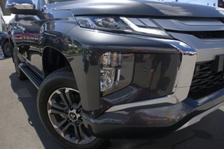2018 Mitsubishi Triton MR MY19 GLS (4x4) Graphite 6 Speed Automatic Double Cab Pickup.