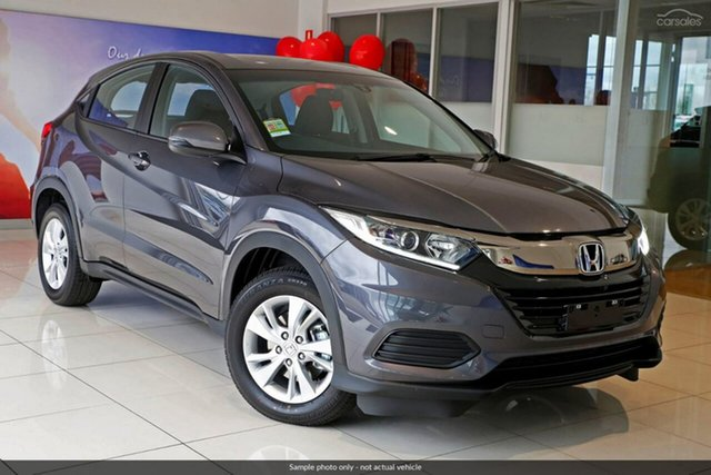 Demo Honda HR-V MY19 VTi, 2019 Honda HR-V MY19 VTi Modern Steel 1 Speed Constant Variable Hatchback