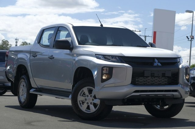 New Mitsubishi Triton MR MY19 GLX+ Double Cab, 2019 Mitsubishi Triton MR MY19 GLX+ Double Cab Sterling Silver 6 Speed Sports Automatic Utility