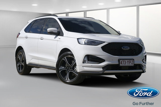 Demo Ford Endura CA 2019MY ST-Line SelectShift FWD, 2018 Ford Endura CA 2019MY ST-Line SelectShift FWD Oxford White 8 Speed Sports Automatic Wagon