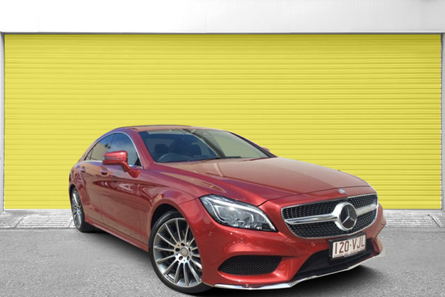 Used Mercedes-Benz CLS250D C218 806MY d Coupe 7G-Tronic +, 2015 Mercedes-Benz CLS250D C218 806MY d Coupe 7G-Tronic + Red 7 Speed Sports Automatic Sedan