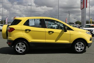 2013 Ford Ecosport BK Ambiente PwrShift Yellow 6 Speed Sports Automatic Dual Clutch Wagon.