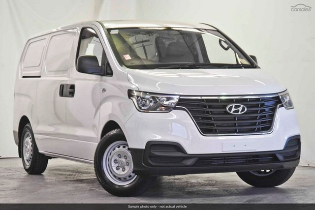 Demo Hyundai iLOAD TQ4 MY20 Crew Cab, 2019 Hyundai iLOAD TQ4 MY20 Crew Cab Creamy White 5 Speed Automatic Van