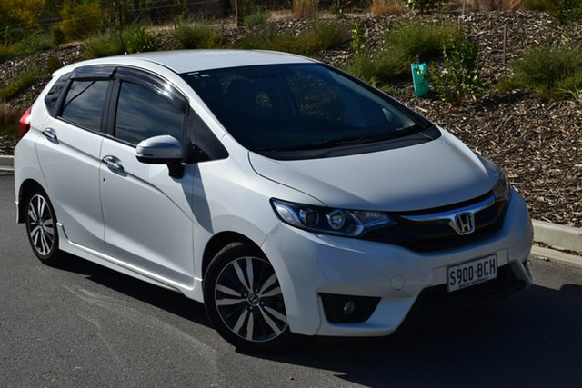 Used Honda Jazz GF MY15 VTi, 2014 Honda Jazz GF MY15 VTi White 1 Speed Constant Variable Hatchback
