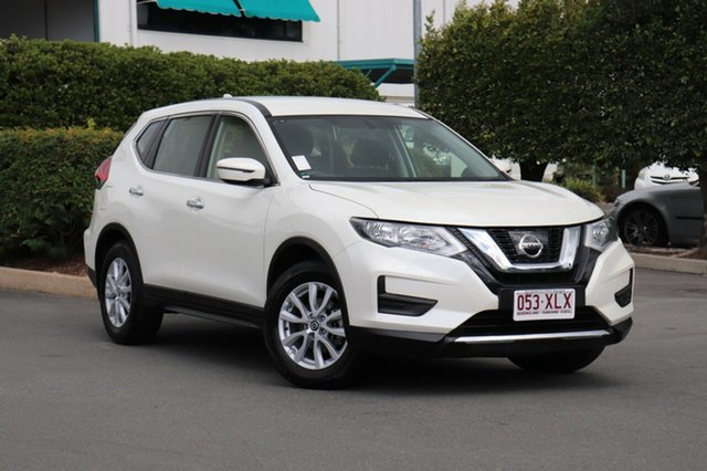 Used Nissan X-Trail T32 Series II ST X-tronic 2WD, 2017 Nissan X-Trail T32 Series II ST X-tronic 2WD Pearl Black 7 Speed Constant Variable Wagon
