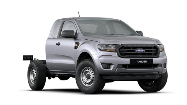 New Ford Ranger PX MkIII 2019.00MY XL Super Cab, 2019 Ford Ranger PX MkIII 2019.00MY XL Super Cab Aluminium 6 Speed Sports Automatic Cab Chassis