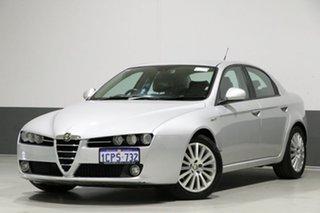 2007 Alfa Romeo 159 2.2 JTS Silver 6 Speed Manual Sedan.